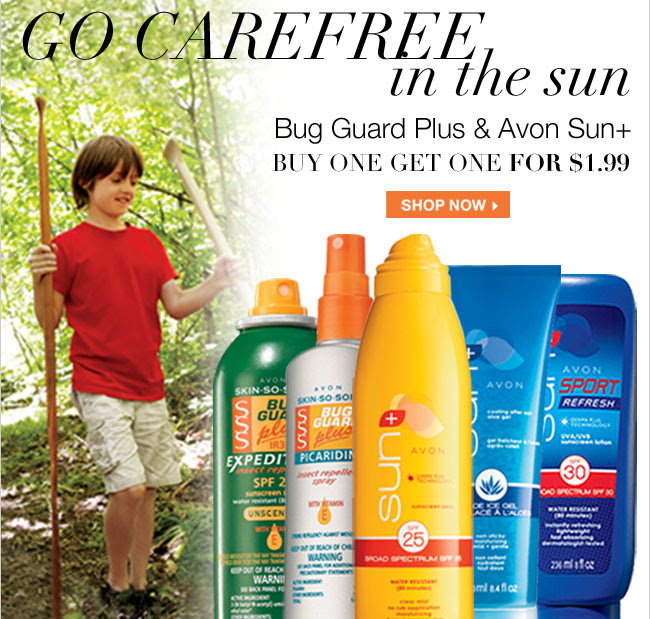 Bug Guard and Avon Sun B1G1 for $1.99