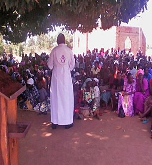 The Rev. Musa Mukenye pleads for Christians to forgive Muslim assailants. (Morning Star News)
