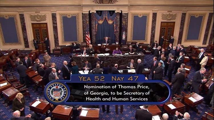 The Senate has a roll call vote in the 2 a.m. hour.</p>