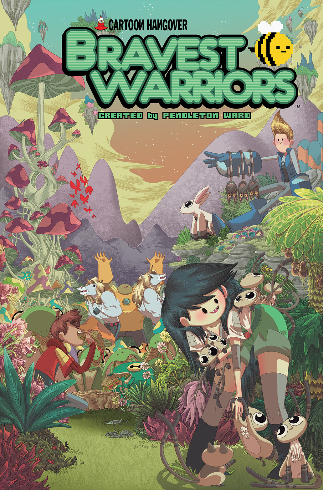 BRAVEST WARRIORS #20 Cover A by Jose Garcia