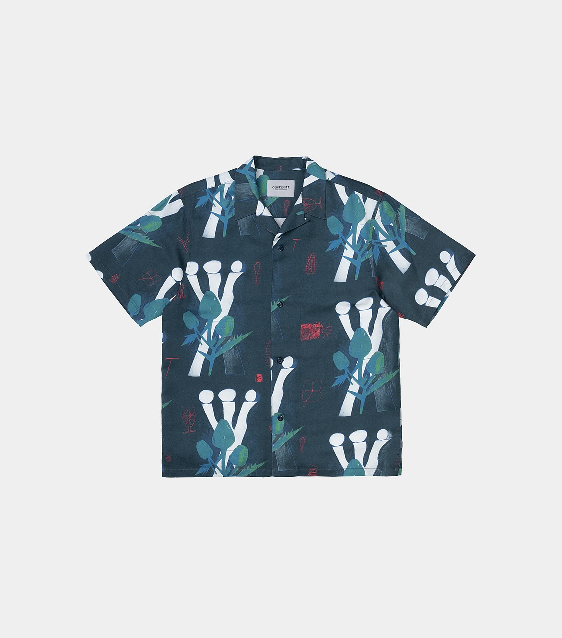 S/S Tom Król Flowers Shirt