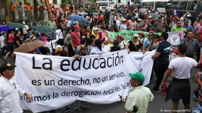 Paro Nacional: Se agudiza la crisis en los sistemas de salud y educación hondureños