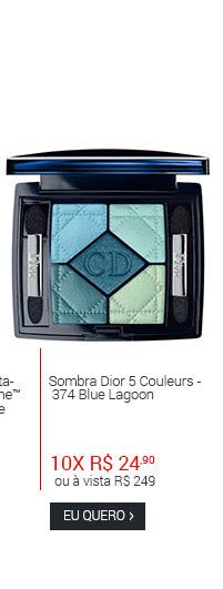 Sombra Dior Couleurs 374 Blue Lagoon