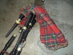 Bag Pipes - Sold for $370 at the MaxSold Turk's Antique Store Clearout Online Auction