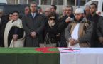 Photo: Sidali Djarboud Associated Pres Le corps d'Abdelkrim Hassane, victime de l'attentat de Québec, a été répatrié en Algérie le 4 février.