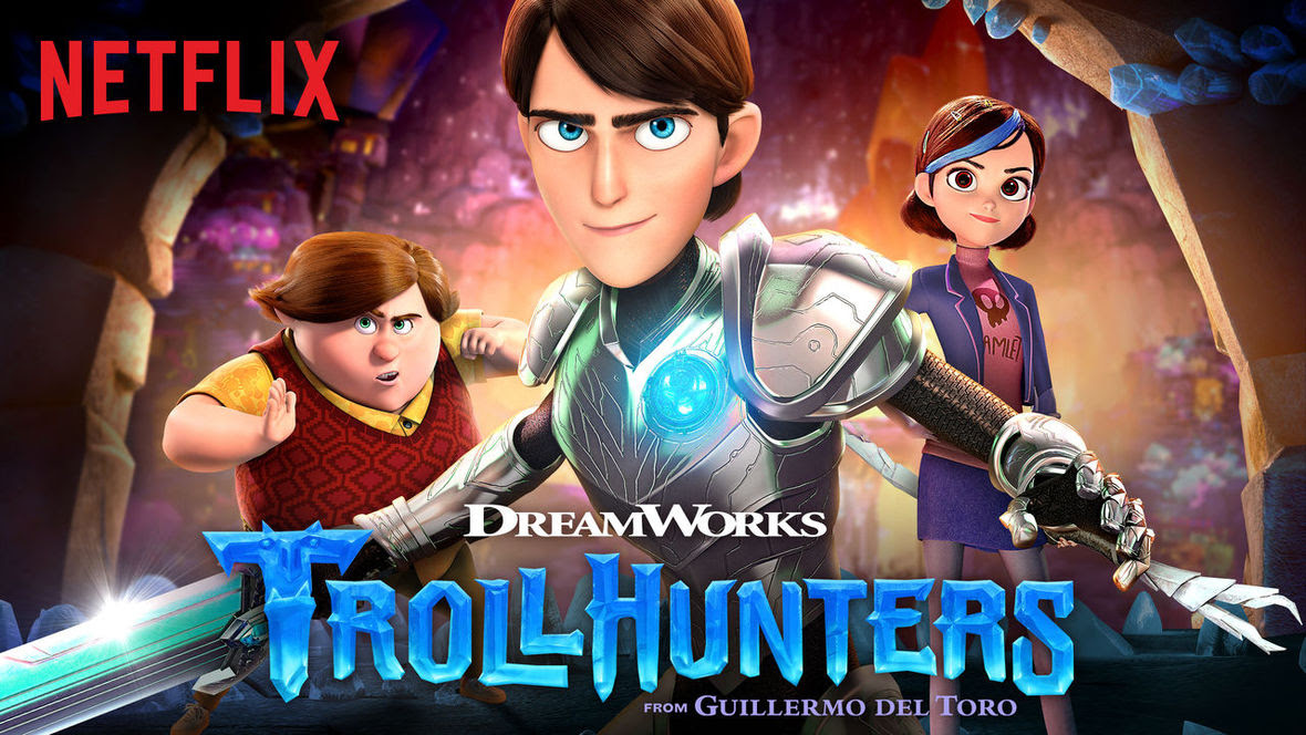 Trollhunters on Netflix