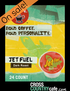 Jet Fuel Keurig K-cup Coffee