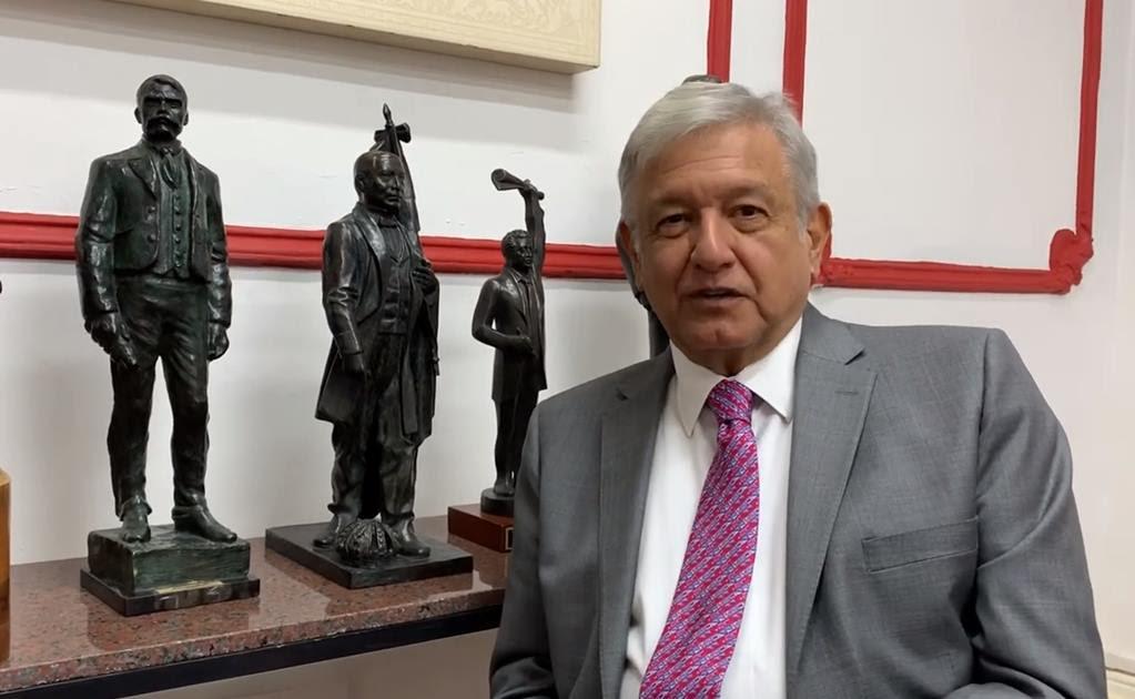 Destaca AMLO ley que elimina las pensiones a ex presidentes