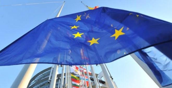 Bandera de la Unión Europea. Imagen: EFE