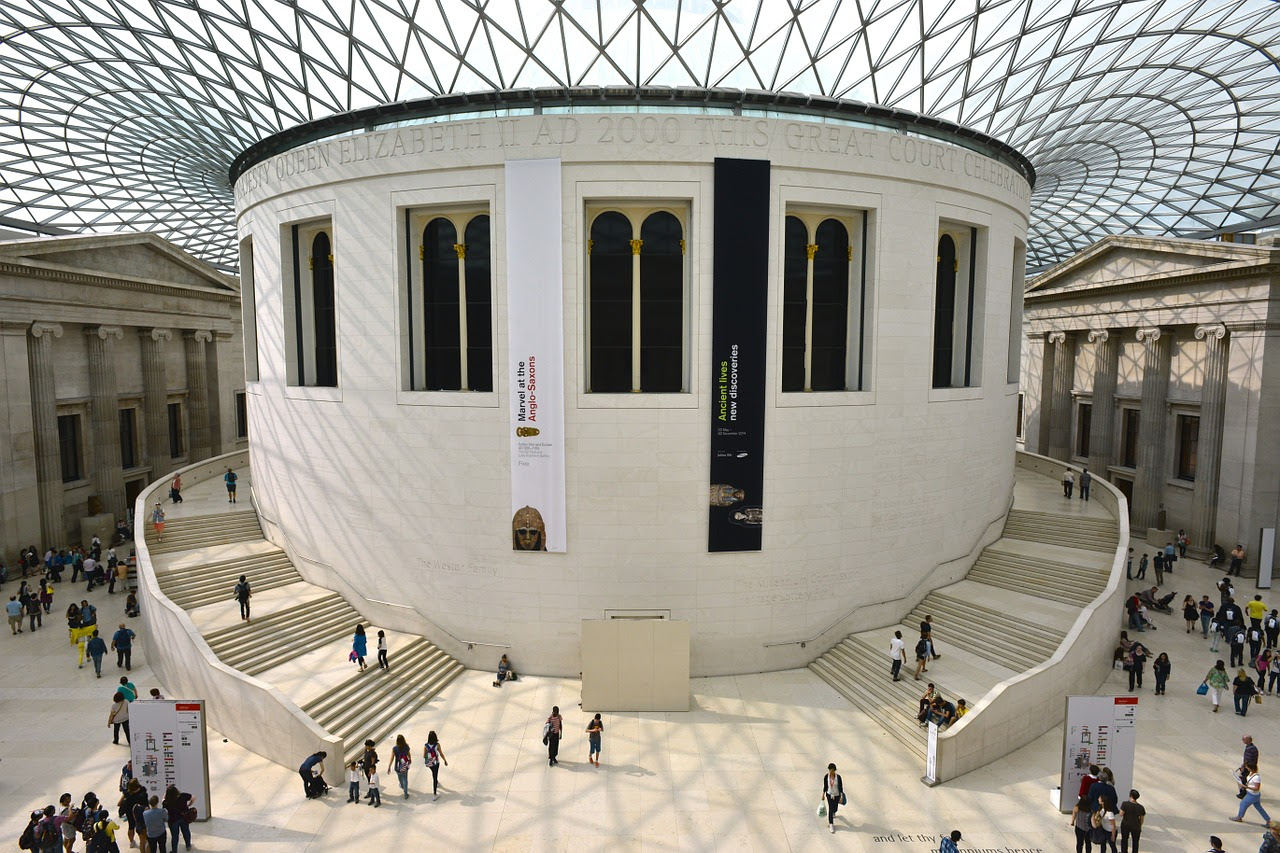 The British Museum, free museums in London