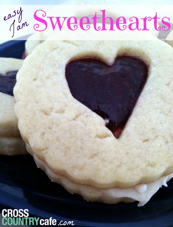 Jam Sweetheart Valentines Cookie recipe