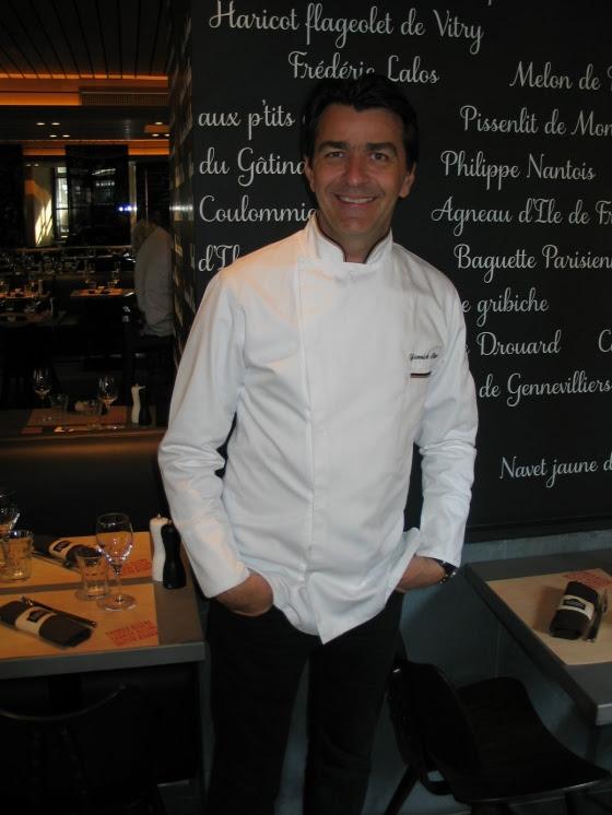 Chef Yannick Alleno, Terroir Parisien Brongniart