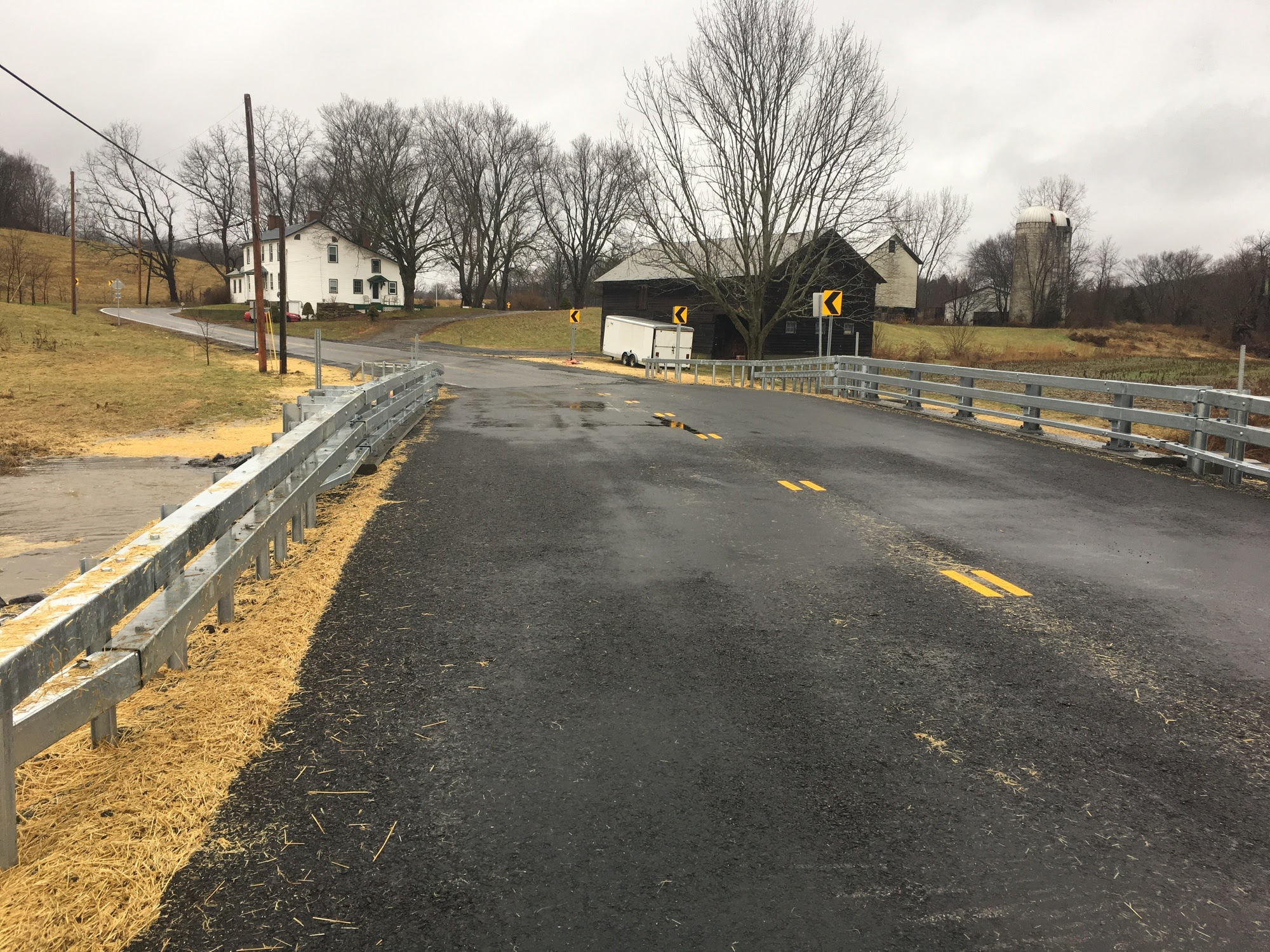 work on bridge PP-12 on Amenia-Pine Plains Road (CR 83) in the Town of Pine Plains is complete and the road has reopened to traffic