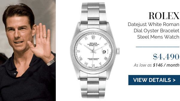 Rolex Datejust White Roman Dial