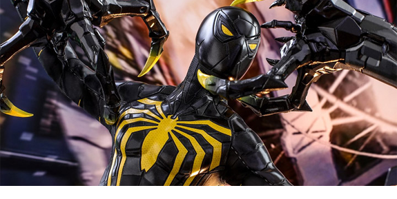 Marvel's Spider-Man VGM45 Spider-Man (Anti-Ock Suit) Deluxe 1/6th Scale Collectible Figure