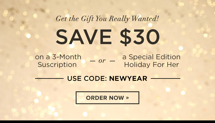 Save $30 on the gift you really wanted!