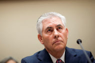 Rex W. Tillerson. His ties to President Vladimir V. Putin of Russia, made while working at Exxon Mobil, have raised questions.