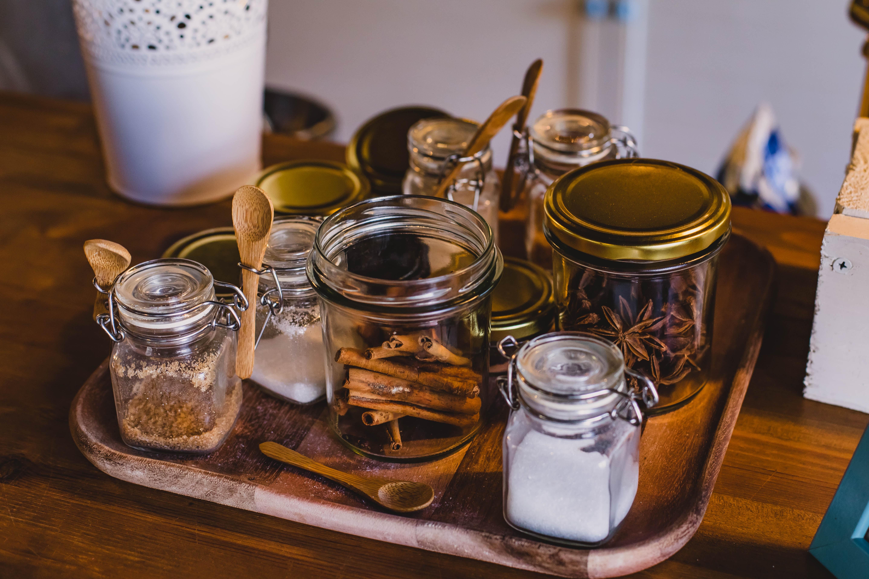 frascos para ordenar tu casa feliz