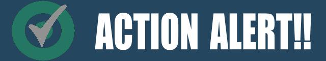 Action Alert Banner