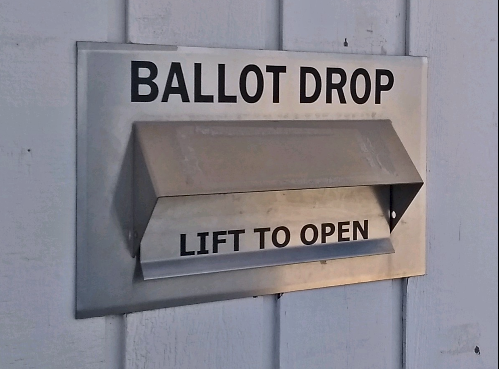 2020 08 05 Election Office Ballot Box