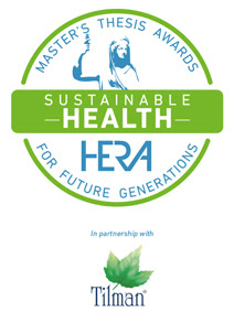 (logo) Master's Thesis Awards for Future Generations - Sustainable Health