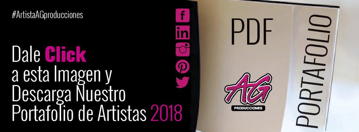 AG PRODUCCIONES - DESCARGA PORTAFOLIO 2018
