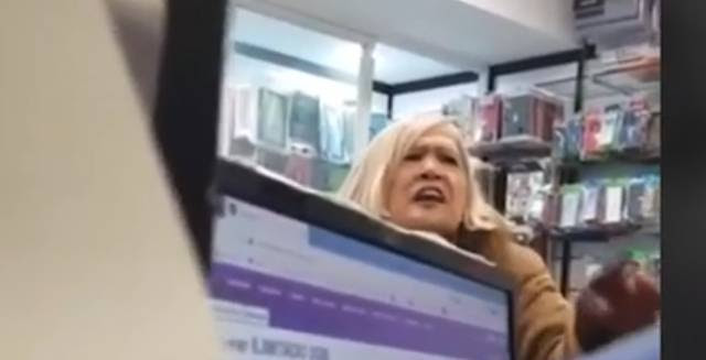 Woman's racist rant to Madrid store clerk goes viral