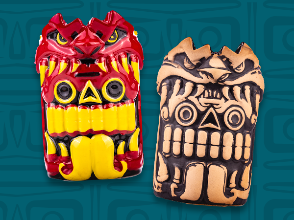 New Mouth of the Serpent Tiki Mugs