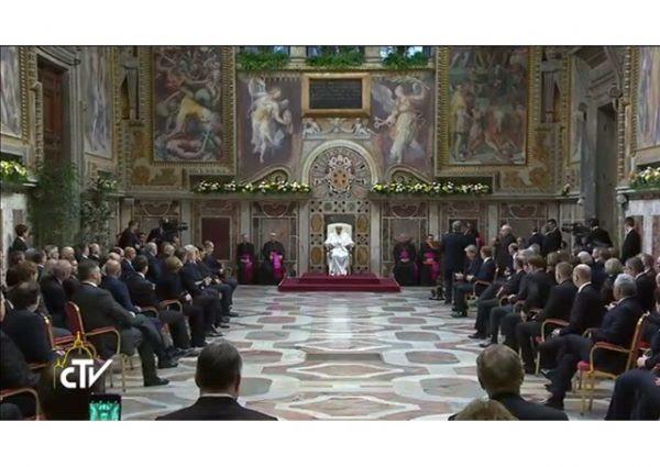 El Papa Francisco a los jefes de Estado y Gobierno de Europa ante el 60 aniversario del Tratado de Roma