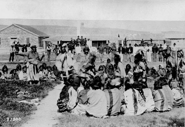 Indios Shoshone en 1892
