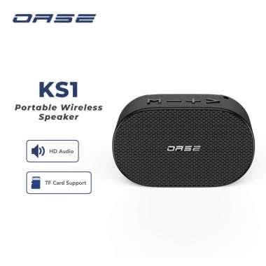 OASE Speaker Bluetooth Wireless HD Audio TF Card Support Garansi Resmi 6 Bulan KS1