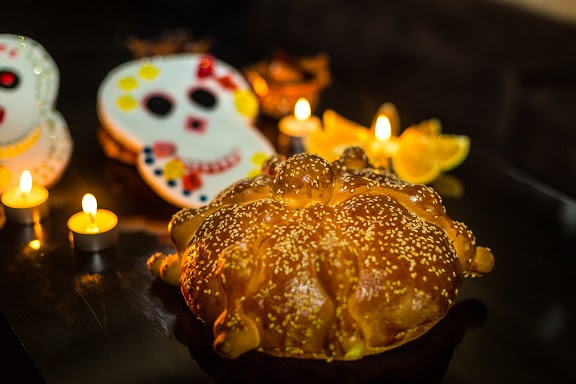 Authentic Pan de Muerto From Grand Velas Riviera Maya