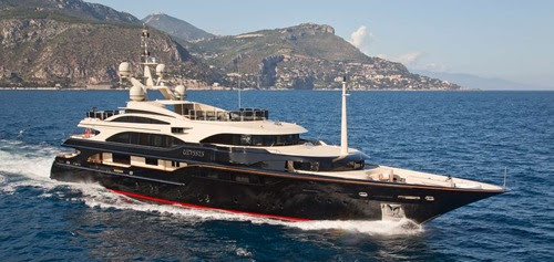 High End Yacht charter Hospitality for the Cannes Film Festival 2017