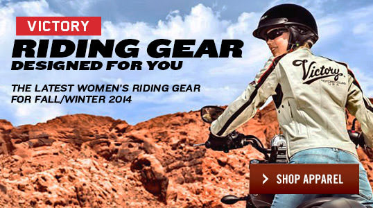 The new range of Women's Victory gear.