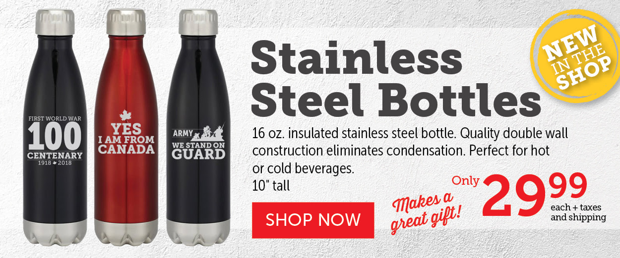 NEW Stainless Steel Bottles!