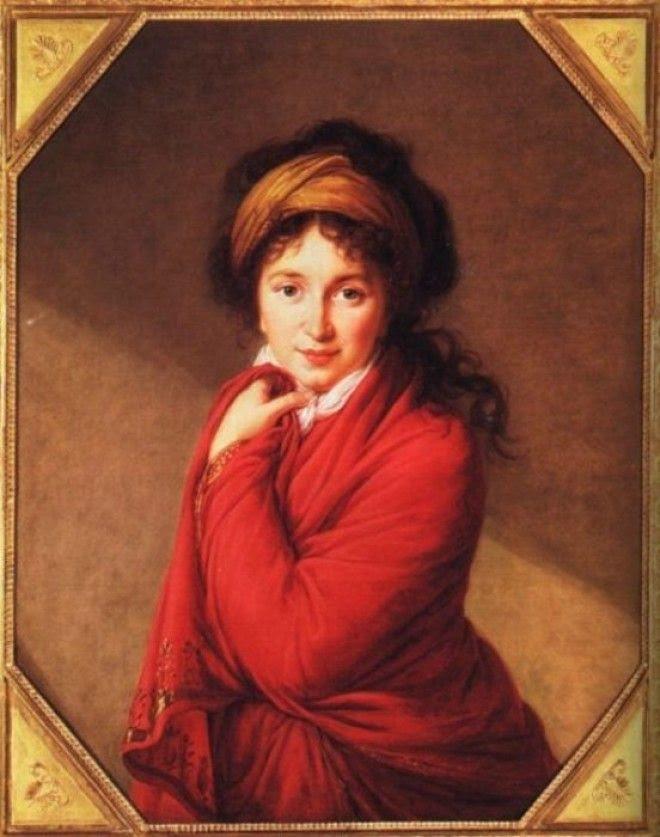 Портрет фрейлины двора Варвары Головиной