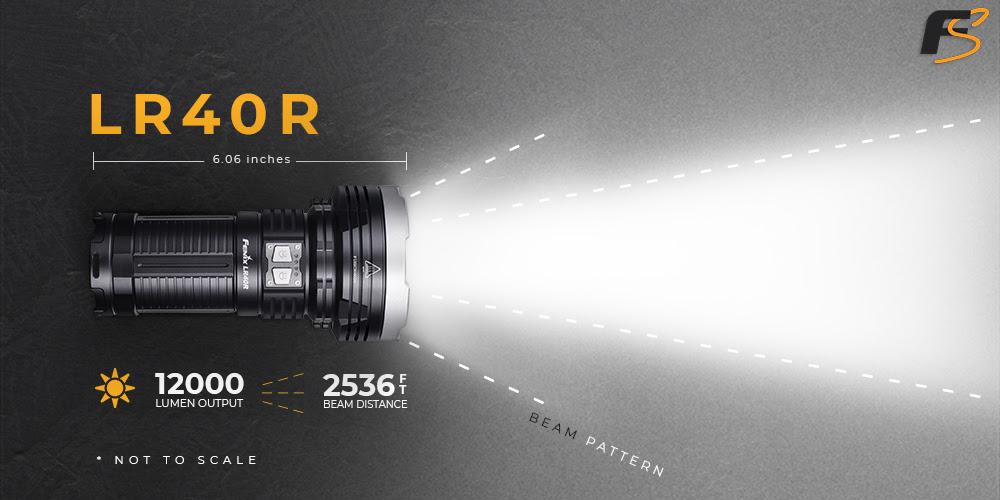 Fenix LR40R LED Flashlight