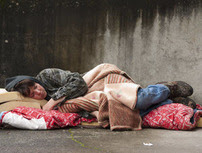 Person experinencing homelessness