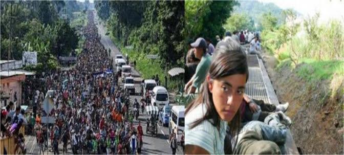 Desplazamiento forzoso para mujeres en una Latinoamérica en llamas
