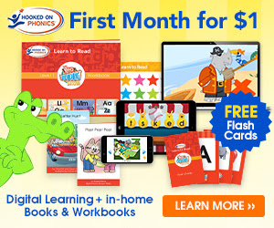Hooked on Phonics - First Month for $1 [428710]