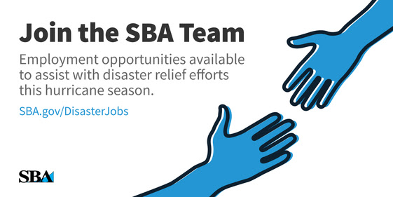 Apply for an SBA disaster assistance job