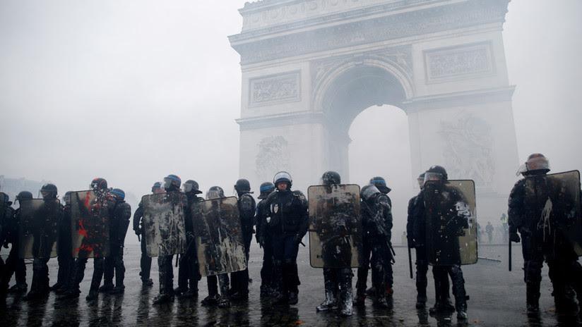 Francia desplegará 89.000 policías en previsión de protestas masivas este sábado