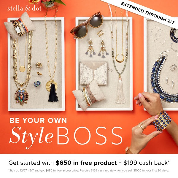 Sign up to be a Stella & Dot stylist now!
