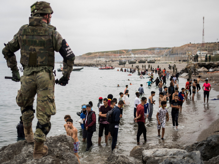 """""""Migration is no longer the existential crisis that it appeared five or six years ago. That has allowed national governments to quietly kick the Commission's plans for an immigration and asylum pact into the tall grass without many people outside Brussels noticing."""""""