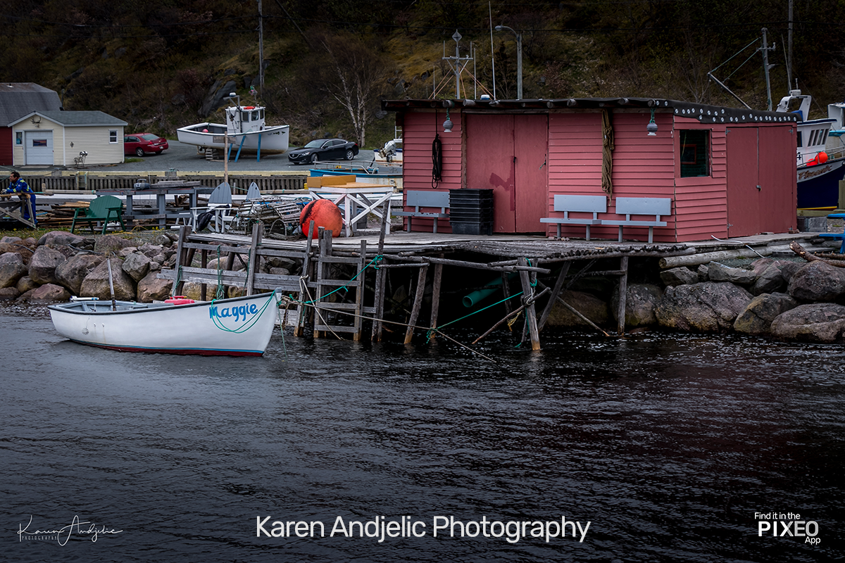 Beautiful Nova Scotia Fishing Shack Photo Location from Karen Andjelic