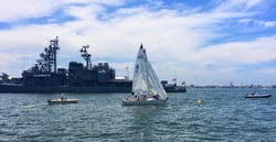 J/22s sailing in San Diego