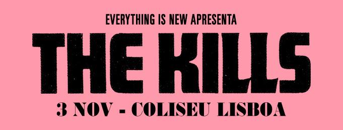 The Kills Apresentam novo álbum em Lisboa dia 3 de Novembro