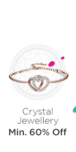 Crystal Jewellery at Min.60% Off