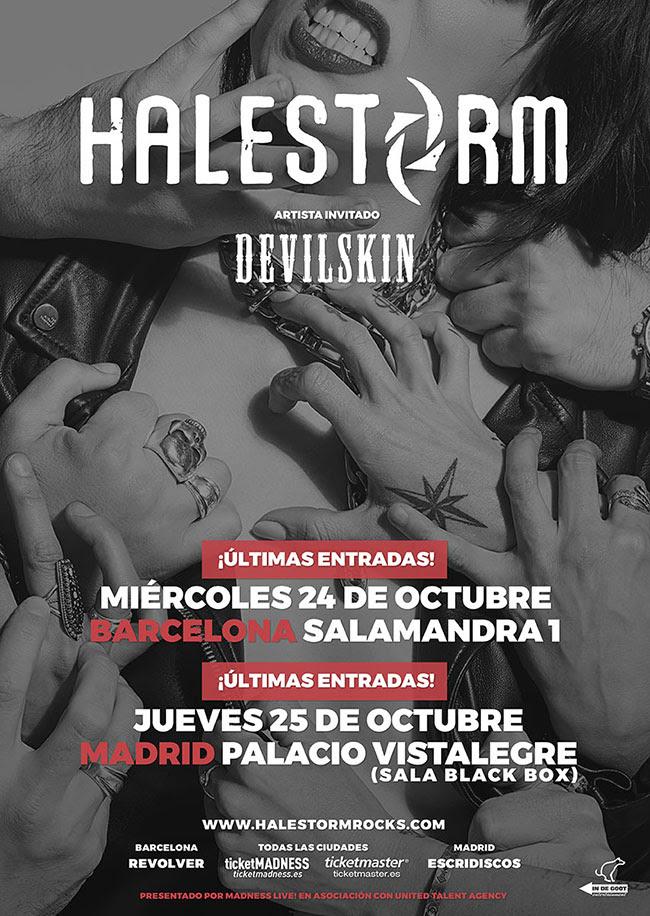 HALESTORM + Devilskin