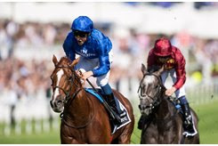 Masar wins the 2018 Investec Derby at Epsom Downs